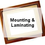 Mounting & Laminating